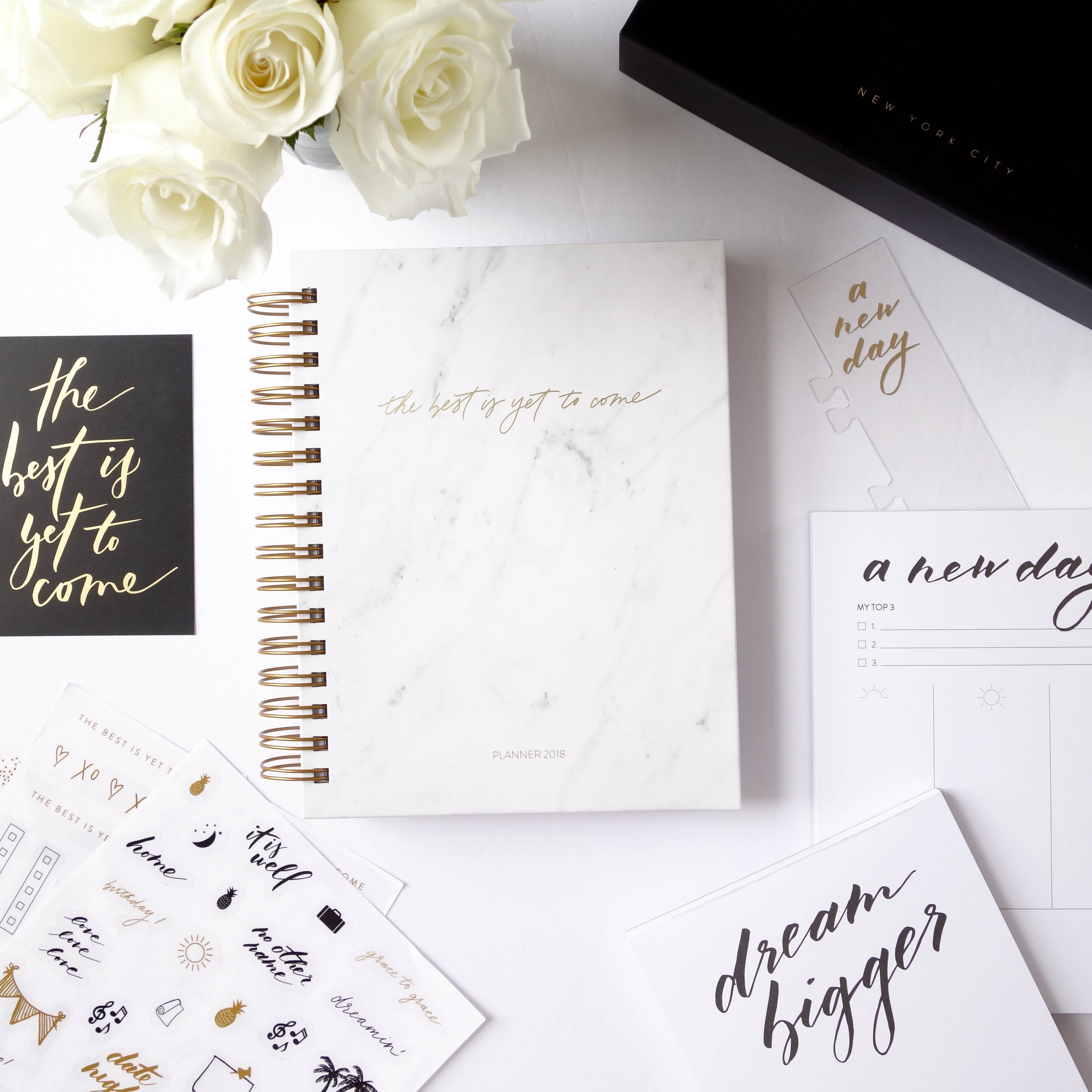 Yearly planner kit
